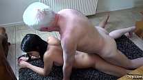 Schoolgirl fucked at home by horny old man the ... Thumbnail