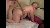 Horny granny paid to fuck with younger
