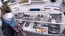 College Student Banged in my pawn shop! - XXX Pawn Thumbnail