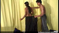 Desi teen girl in passionate foreplay