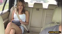 Babe Ivana gets a big cock in the cab and award...