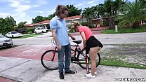 BANGBROS - Teen Aubrey Sinclair With The Helpin...