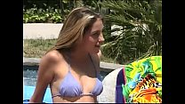 Gorgeous Babe Jenna Haze Takes Billy Glide's Thick Cock Poolside