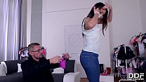 Blow Out Deal - Salesgirl Gets Fucked Deep on B... thumb
