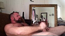 hairy daddy jerk off Thumbnail