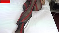 Download video bokep Irene in sexy black and red pantyhose and sexy ... 3gp terbaru