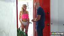 Latina nanny Carmen Caliente gets a big bonus o...