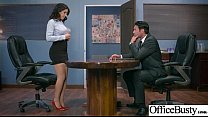(Valentina Nappi) Girl With Round Big Tits In Hard Style Sex In Office clip-30