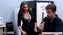 d cutie alex chance nailed in the office