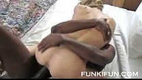 BBC FUCKS HARD HES BLONDE WHORE STEPSISTER - YOU CAN FUCK HER TOO