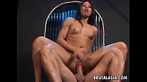 hot big ass babe getting fucked real hard