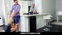 FamilyStrokes - Cutie Fucks Her Step-Cousin Whi... Thumbnail