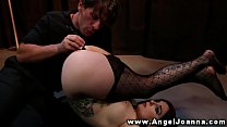 Angel Joanna only need toys from her stud when ...