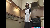 chi shiori wildest food insertion action