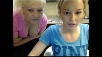 MOTHER AND DAUGHTER SHOW TITS ON CAM - instagra... Thumbnail