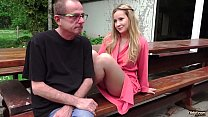 Grandpa Calls For a Young Escort and gets the b...