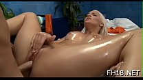 Angel fucked after sensual massage given by jake Thumbnail