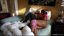 Black Busty Queen Maserati Squeezes Big White C...