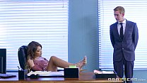 Brazzers - Cassidy Banks gets some big white co...