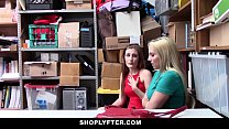 shoplyfter   hot milf and daughter pay the price of stealing