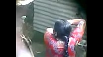 desi indian aunty taking bath hidden cam