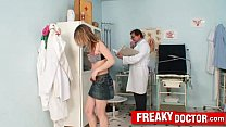 Cute teen patient Brody Beart and old old dirty...