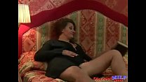 European MILF Gets Thick Cock