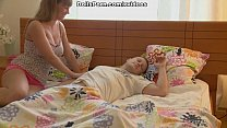 Real blonde love doll screws her BF scene 1