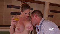 Busty Milf Cathy Heaven goes CRAZY for hard Ana...
