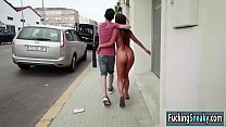 Amirah Adara fucks with bf in public Thumbnail