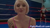 Tattooed babe pussylicked by wrestling lesbo - XVIDEOS.COM