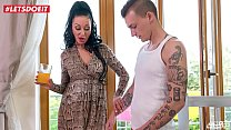 Step Son gets in Bed with Mom After Being Seduced Thumbnail