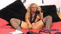 v   horny blonde slut bonnie rose playing with her toys