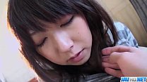 Harsh pussy penetration for Reina Japanese teen  porn videos
