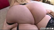 Sexy white girl Vanessa Cage with a big juicy ass enjoys hardcore sex