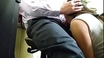 my new secretary sucks me in office