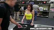 Miss Miami Hoodrat selling a silver chain gets ...