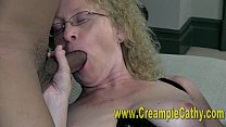 Cummy Interracial Creampie
