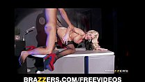 Beautiful blonde MILF loves to bounce her ass on hard dick