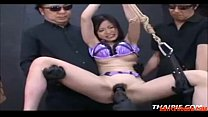 Rough Toying a Tied Hairy Asian Teen, HD Porn: ...