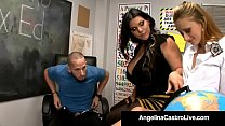 Cuban BBW Angelina Castro Shows Tara Lynn How t...