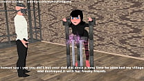 hotel transylvania mavis kidnapped and get electric torture and spanking on ass Thumbnail