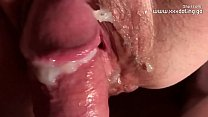 my sex friend extreme edging inside her pussy -...