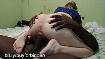 white teen fucks her big black cock master