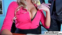 Office Girl (August Ames) With Big Round Melon Tits Like Sex mov-08 Thumbnail