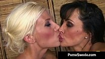 Lesbian Lover Puma Swede Gets Some Hot Juicy Pu...