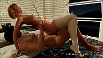 HOT Blonde 3D Babe With Small Tits Gets Her Pus... Thumbnail