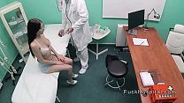 Big cock doctor recording sex with patient
