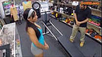 Gym trainer posed on camera and pounded at the ...