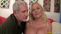 Old babe Sara Skippers mature sex fat cock